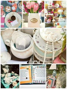 One of the most popular bridal shower themes is the tea party theme. It's perfect for the bride who just wants to get prettied up for her big day
