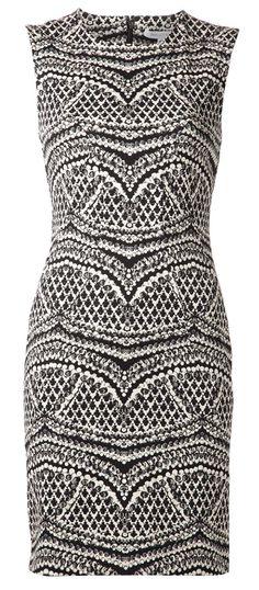 Diane Von Furstenberg - Black Pentra Dress