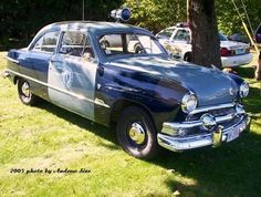 1952 Ford, MA State Police....