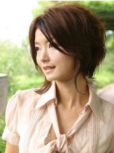 I'm growing out my hair now, but love this style for when I'm ready to chop it off again
