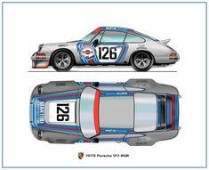 Automobiles 2 - Gerhal272 Martini-Porsche 911 RSR 1973