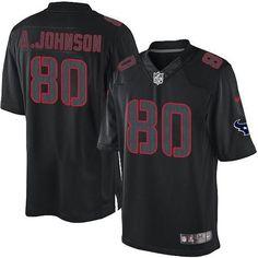 Nike Game Mens Houston Texans http://#80 Andre Johnson Impact NFL Jersey $79.99