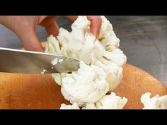How to Make Cauliflower Rice with and without a Food Processor How To Cook Cauliflower, Cauliflower Couscous, Cauliflower Recipes, Lectin Free Foods, A Food, Food And Drink, Daniel Fast Recipes, Nasi Lemak, Healthy Juices