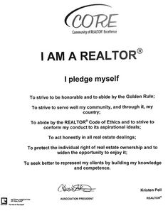 What YOUR Realtor may not be telling you…