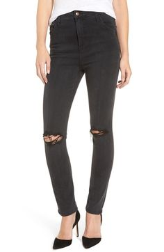 6cb42a3823347 Joe s  Flawless - Bella  Ripped High Rise Skinny Jeans (Emilie) available at