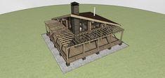 Проект банного комплекса «Байкал» | Проекты бань и саун