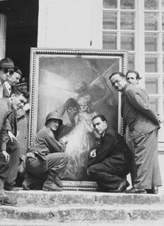 "8 Badass Photos From the Real-Life ""Monuments Men""—Who Saved Art and Treasure From the Nazis 