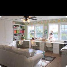 I want this homeschool room!