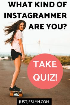 Quiz: What Kind Of Instagrammer Are You? - Just Jes Lyn Free Instagram, Instagram Tips, Social Media Content, Social Media Tips, Buzzfeed Style, Describe Your Personality, Online Group, Money Saving Mom, Social Media Influencer