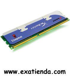 Ya disponible Ddr3 Kingston 2gb/1600 hyperx    (por sólo 32.9 € IVA incluído):   -Capacidad de almacenamiento: 2 GB -Tecnología: DDR3 SDRAM -Factor de forma: DIMM de 240 espigas -Velocidad de memoria: 1600 MHz ( PC3-12800 ) -Comprobación integridad datos: No ECC -Tiempos de latencia: CL9 ( 9-9-9-27 ) -Características: Sin memoria intermedia -Voltaje de alimentación: 1.7 - 1.9 V   Garantía de 24 meses.  http://www.exabyteinformatica.com/tienda/222-ddr3-kingston-2gb-16