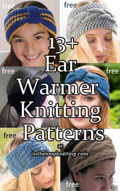 Knitting Patterns for Ear Warmer Headband Knitting Patterns. Knitting Patterns for Ear Warmer Headband Knitting Patterns. Knitting Blogs, Knitting For Beginners, Loom Knitting, Knitting Patterns Free, Free Knitting, Hat Patterns, Knitting Needles, Bandeau Torsadé, Headband Bandeau