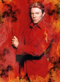 bustedzip:    portrait-in-flesh:    bowies-union-jack-coat:    Smoking Hot, Devilishly Sexy…Devil Bowie?    Devil Bowie    Mmmmmm how could we have missed Devil Bowie!? thisisbrilliant