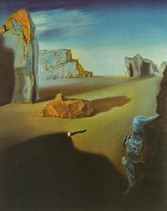 Salvador Dali - Surrealism - Shades of Night Descending, 1931
