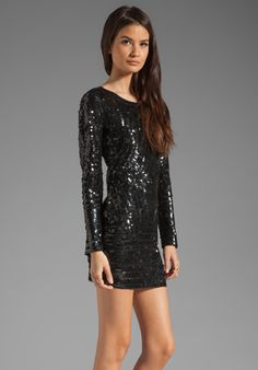 GRYPHON Party Dress in Black at Revolve Clothing