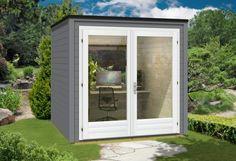 Design Gartenhaus Cubus-Office - A-Z Gartenhaus-GmbH
