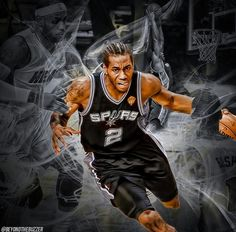 Kawhi Leonard NBA Finals 2014 Game 4