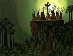 disney concepts & stuff Visual Development from Peter Pan by Mary Blair