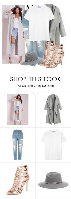 """613. T-Shirt"" by slovak-queen1997 ❤ liked on Polyvore featuring Missguided, Prada, Aquazzura, rag & bone, Vanessa Mooney and MyFaveTshirt"