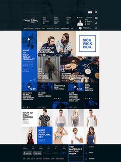 Fashion Magazine / Concept on Behance