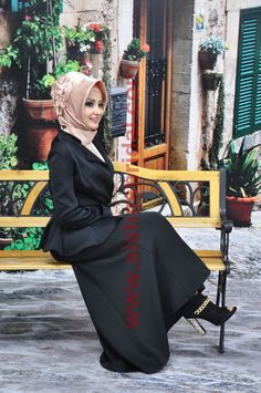 Ready To Wear Hijab  Code: HT-0004 Muslim Women by HAZIRTURBAN