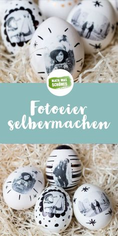 Photo eggs - make your own Easter eggs - Ostern: DIY Ostergeschenke & Osterdeko - Crafts Pot Mason Diy, Mason Jar Crafts, Diy Hanging Shelves, Diy Wall Shelves, Wallpaper Marvel, Diy Cadeau, Egg Designs, Mason Jar Lighting, Wine Bottle Crafts