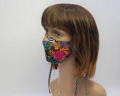 Mundmaske, Schutzmaske aus Designerstoff, 3D-Schnitt , Unisex, für Erwachsene, Baumwolle Captain Hat, 3d, Unisex, Hats, Fashion, Protective Mask, Cotton Textile, Masks, Cotton