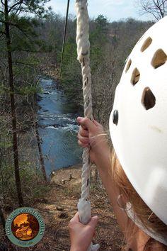 Zipline at Historic Banning Mills in Whitesburg, GA