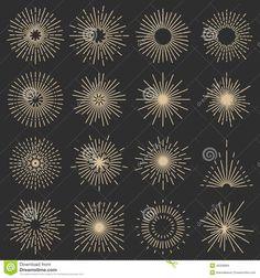 sun ray graphics - Google Search