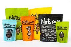 Contoh Desain Kemasan Unik Menarik - Contoh desain kemasan unik menarik - packaging design - Nuts.com