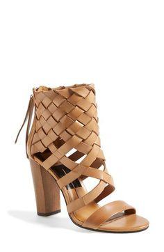 Dolce Vita 'Nakita' Woven Leather Sandal | Nordstrom