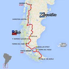 Moto Tour Patagonia e Terra del Fuoco