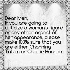 Charlie Hunnam & channing tatum -- my two favourites