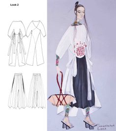LARA QUINT Sketch Bushido FW14