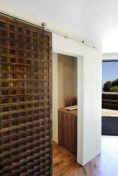 Attirant Wooden Rolling Door Interior Barn Door Hardware, Interior Doors, West  Hollywood, Hollywood Hills