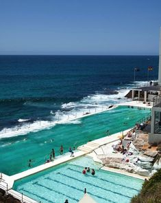 The Bondi Baths at Sydney's famous Bondi Beach have been open for more than 100 years.