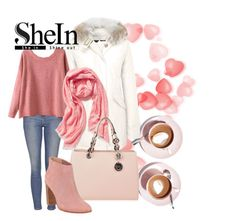 """""""SheIn"""" by dzenny-k ❤ liked on Polyvore featuring Martha Stewart, Woolrich, Topshop, Old Navy, MICHAEL Michael Kors, Ted Baker, vintage and shein"""