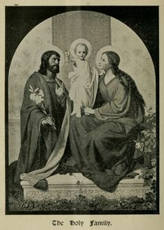 The Holy Family from the Carmelite review, 1903