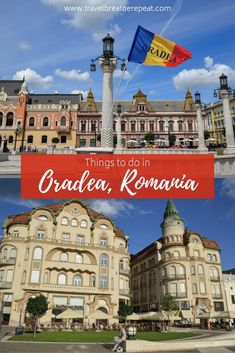 We ended our time in Transylvania with 2 days in Oradea. Here are our favorite things to do in Oradea to convince you to add it to your Romania itinerary. Backpacking Europe, Europe Travel Guide, Travel Guides, Budget Travel, Travelling Europe, Traveling, Travel Abroad, Travel Hacks, Europe Destinations