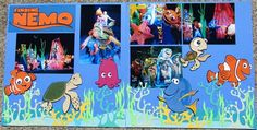Disney Scrapbook Finding Nemo