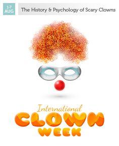 August 1-7 - International Clown Week