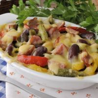 Terrific Three Bean Casserole