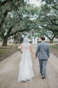 Rhonada & David | Cotton Dock at Boone Hall Plantation | The Wedding Row | The Wedding Row