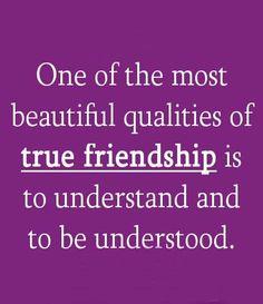 Qualities of true friendship