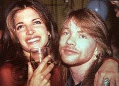 "Axl Rose & Stephanie Seymour she appeared in ""November Rain"" ""Don't Cry"" by Guns N' Roses"
