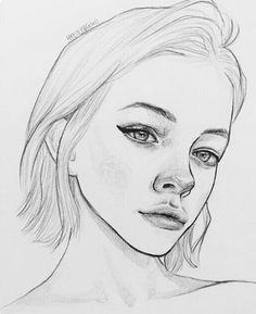 The Secrets Of Drawing Realistic Pencil Portraits - . Secrets Of Drawing Realistic Pencil Portraits - Discover The Secrets Of Drawing Realistic Pencil Portraits Pencil Art Drawings, Cute Drawings, Drawing Faces, Drawing Sketches, Sketching, Drawing Ideas, Portrait Sketches, Drawing Lips, Horse Drawings
