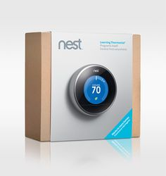 The 2nd generation Nest is now shipping from Lowes.com and Amazon.com, and is also beginning to appear on shelves in more than 1,700 Lowe's stores nationwide.