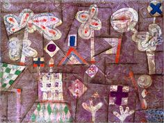 Paul Klee - The Gingerbread House, 1925