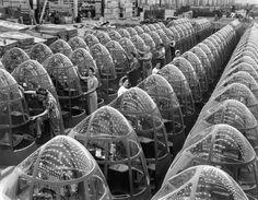 [Mystère #73] Des nez de bombardiers Douglas A 20 en 1942 assemblage nez douglass femme1 720x559
