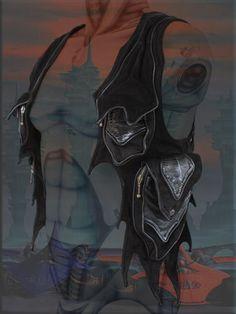 burning man Leather holster ~ Lemurian shoulder bag