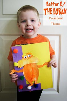 Mommy's Little Helper: Letter L/Lorax Preschool Theme